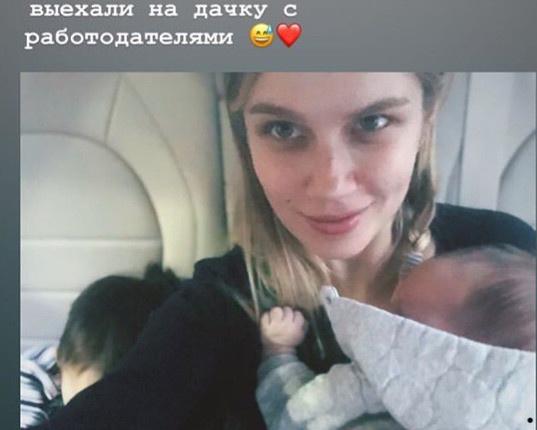Чуть более месяца назад актриса стала мамой во второй раз