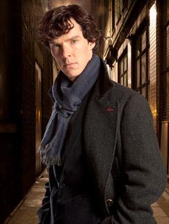 Бенедикт Камбербэтч в образе Шерлока
