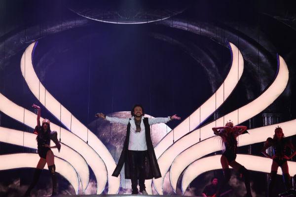 На концерте исполнителя был аншлаг из 17 тысяч зрителей