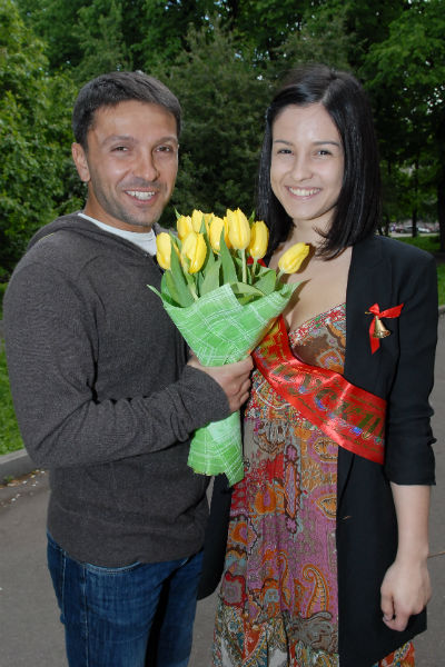 Леонид уверен, что дочери выберут актерскую профессию