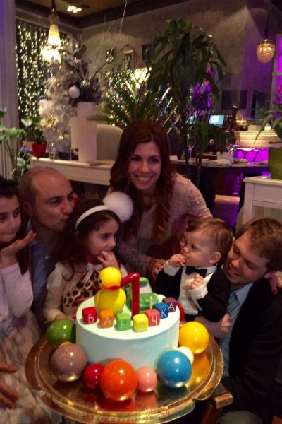 День рождения внука Михаила Турецкого отмечался в узком семейном кругу