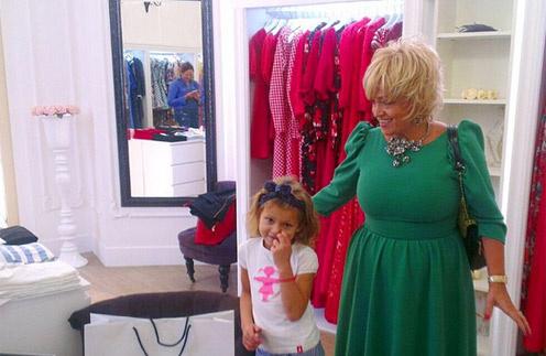 Надежда Кадышева в модном доме Belorzoloto