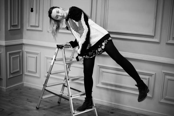 В мире моды Алиса оказалась благодаря случаю