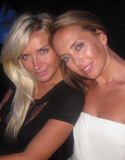 Жанна с подругой Катей Цветовой