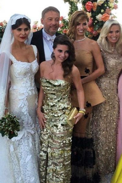 На итальянской свадьбе Надежды присутствовали многие звезды