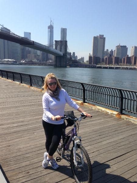 Бруклинский мост – любимое место Оксаны в NY