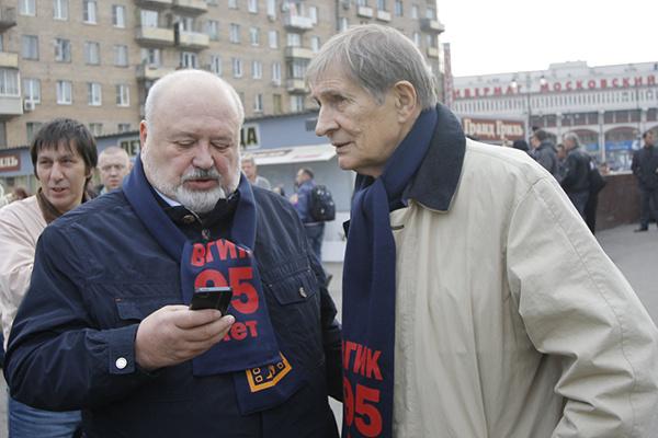 Ректор ВГИКа Владимир Малышев и режиссер Игорь Ясулович