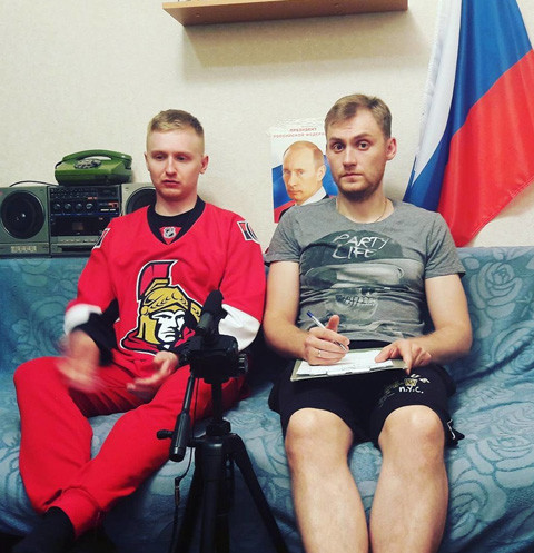 Алексей Псковитин и Михаил Печерский