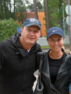 Марат Башаров и Екатерина Арахрова
