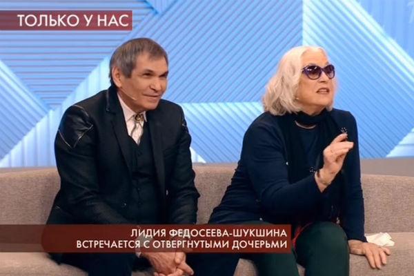 Лидия Федосеева-Шукшина счастлива с Бари Алибасовым