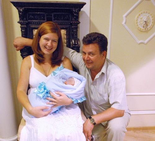 Светлана Дель с мужем
