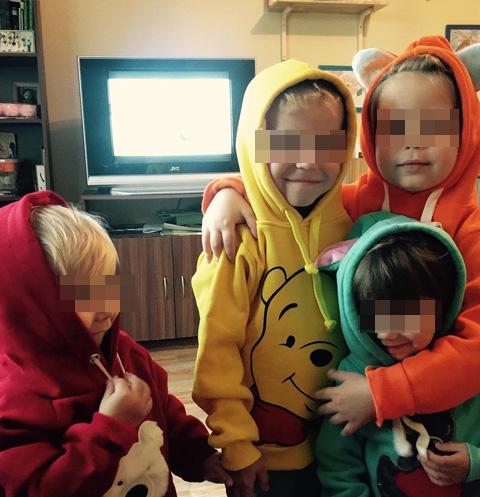 В семье Дель восемь детей находятся под опекой, четверо - усыновленные, один — кровный