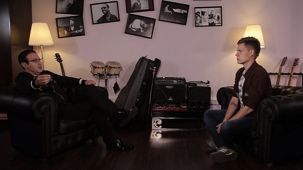 Юрий Дудь берет интервью у Гарика Мартиросяна