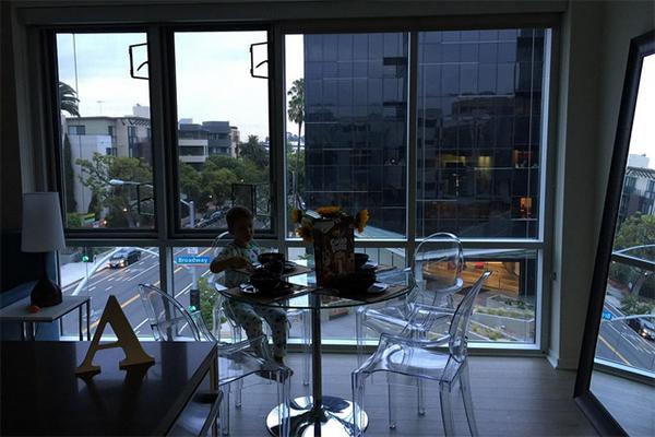 Апартаменты Алены Водонаевой в Калифорнии