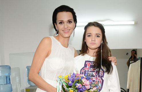 Слава с дочерью Александрой