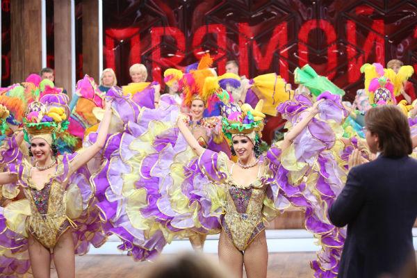 В финале «Прямого эфира» начался веселый карнавал