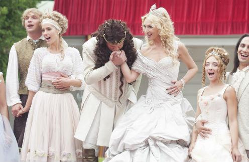Финал сказки – свадьба короля Сергея Жигунова и королевы Кристины Орбакайте