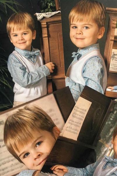 Певец редко публикует фотографии сына