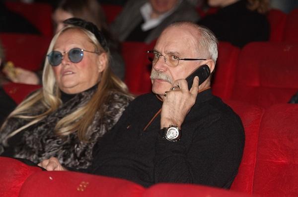 Никита Михалков с супругой Татьяной Михалковой