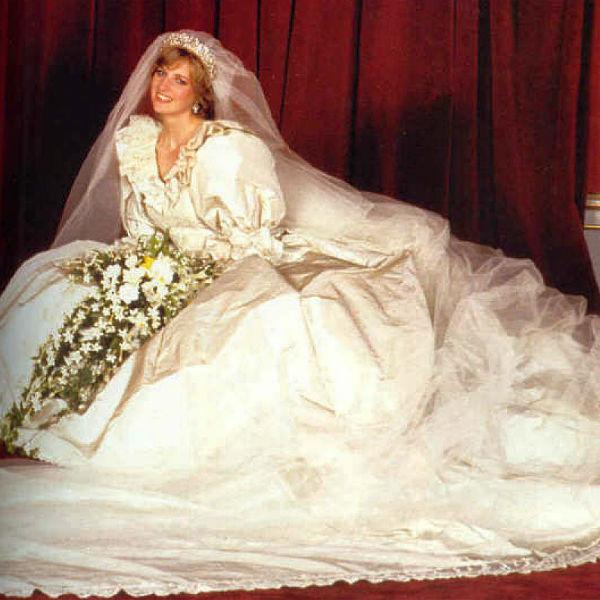 Свадебный образ принцессы Дианы стал культовым