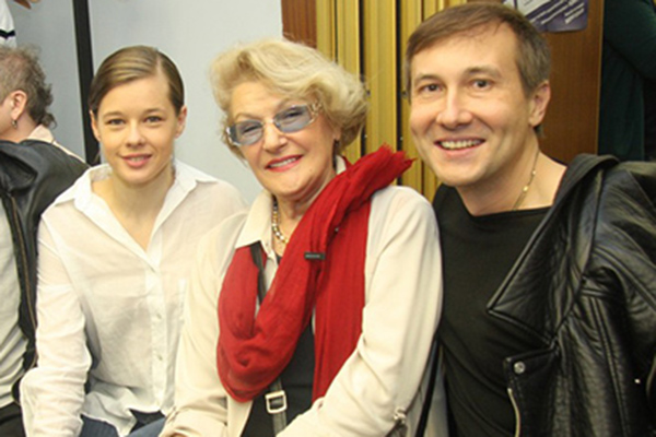 Екатерина Шпица, режиссер Светлана Дружинина и режиссер Николай Лебедев