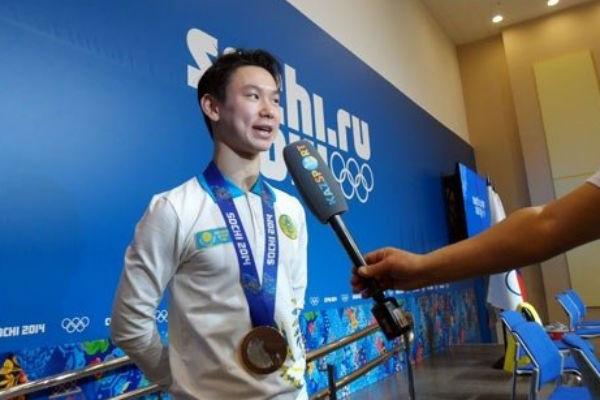 Денис Тен получил на Олимпиаде в Сочи бронзу