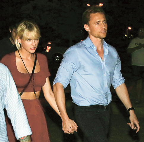 Тейлор Свифт и Том Хиддлстон познакомились на Met Gala