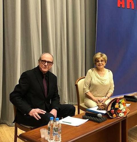 Эммануил Виторган и Ангелина Вовк