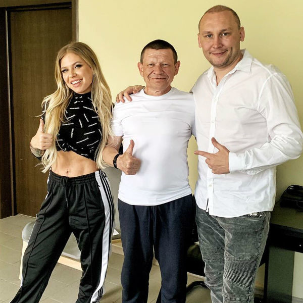 Рита Дакота, ее папа и Николай Лушников