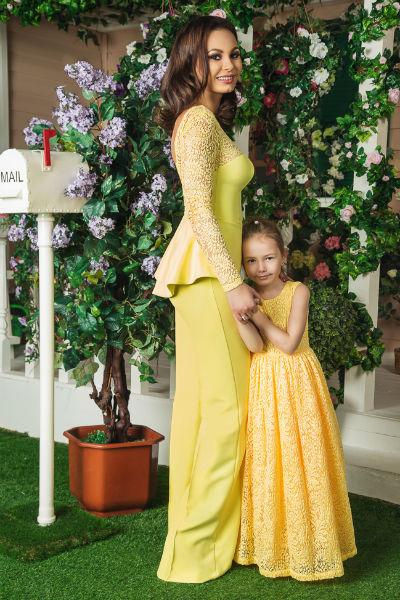Инна с дочерью Миланой
