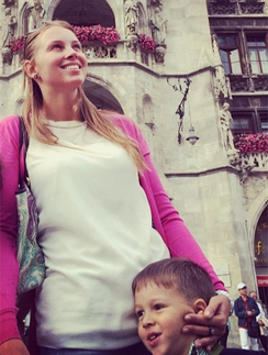 полина диброва с детьми фото в инстаграм