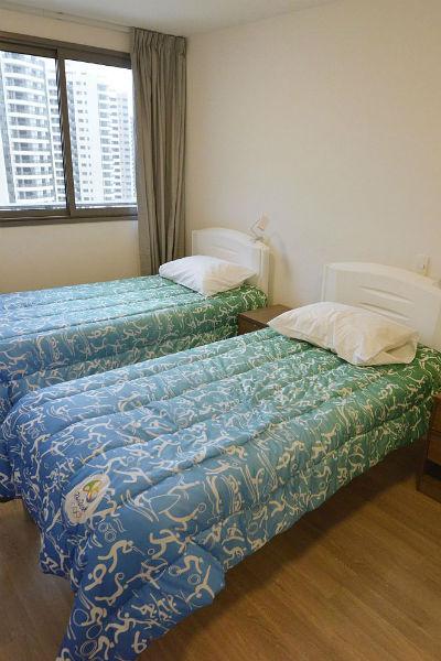 Олимпийцы живут в комнате по два человека