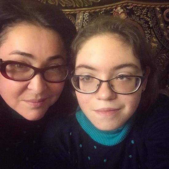 Лолита с дочерью Евой