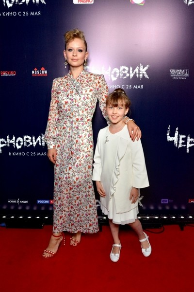 Юлия Пересильд с дочерью Анной