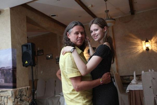 Сергей Чиграков с дочерью Дарьей