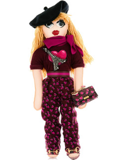 Кукла Gucci