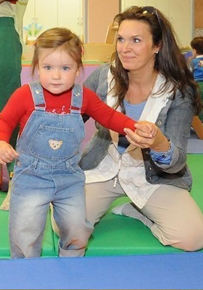 Марина Могилевская с дочерью Марией