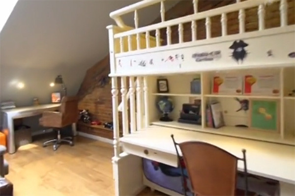 Так комната сыновей актрисы выглядела до ремонта