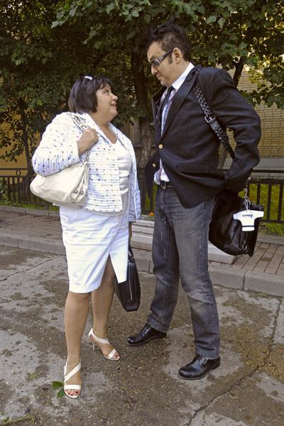 Татьяна Акимцева и Филипп Киркоров