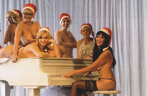 Актрисы снялись для календаря