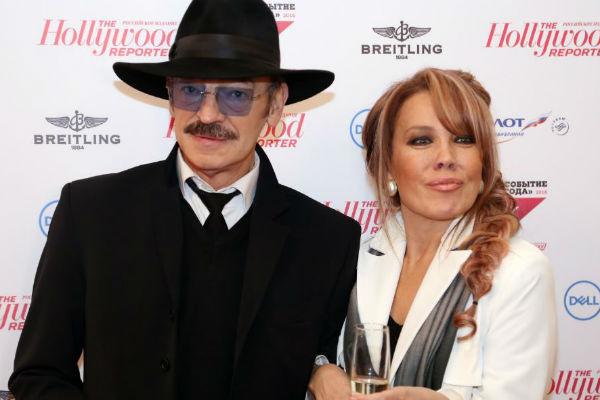 Михаил Боярский и певица Азиза