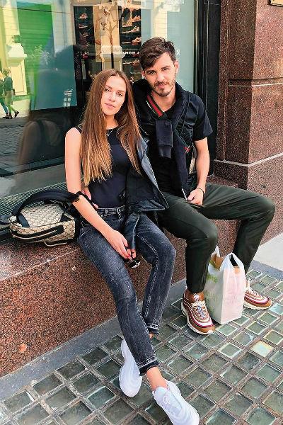 Вероника и Александр Ерохины