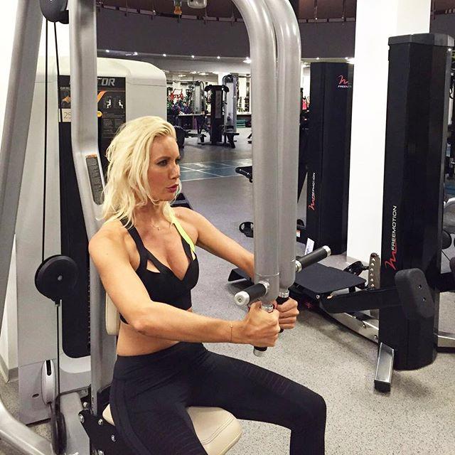 Елена Летучая любит заниматься спортом