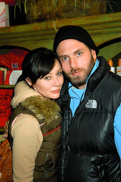 Шеннен Доэрти и Рик Саломон поженились в 2002 году