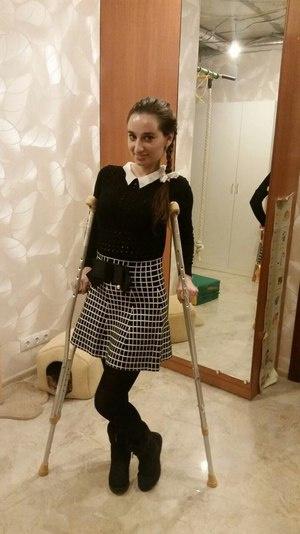 После аварии Анастасия Солтан заново училась ходить