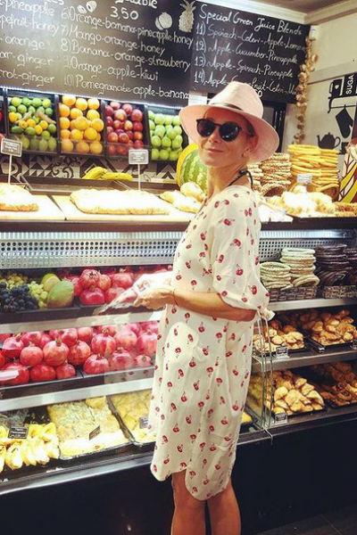 Актриса сама выбирает продукты для своей семьи