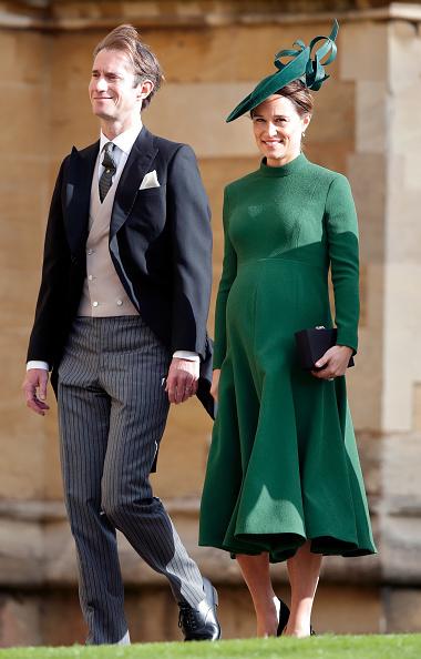 Четыре дня назад Пиппа Миддлтон с мужем посетили свадьбу принцессы Евгении