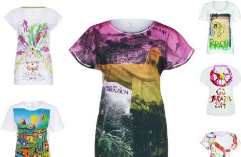 Шесть футболок выпустят специально к чемпионату мира по футболу
