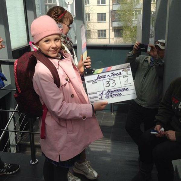 Лиде понравилось сниматься в кино