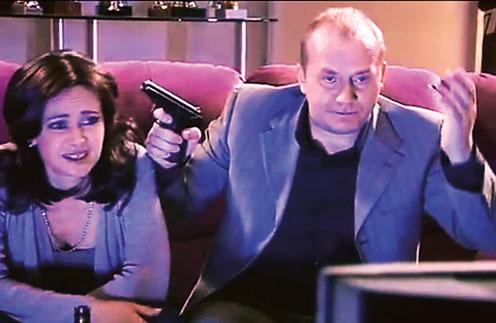 Сергей Бурунов сыграл Панина в пародии на фильм «Бой с тенью»